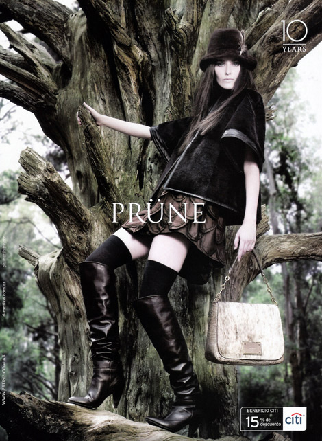 Boot Ads. Prune F/W 2009.