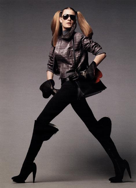 Boot Fashion: Vogue Deutsch, August 2009.