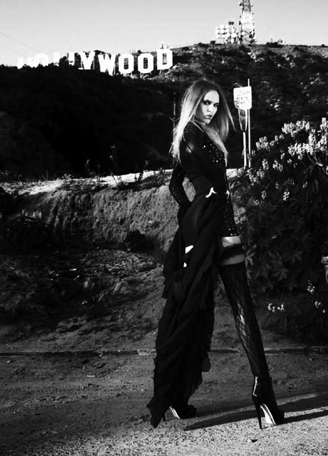 Boot Fashion: Valeria Dmitrienko in Brian Atwood Boots. Futureclaw, 05/2010.