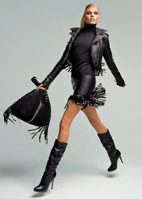 Boot Fashion: Maryna Linchuk for Blumarine. F/W 2010.