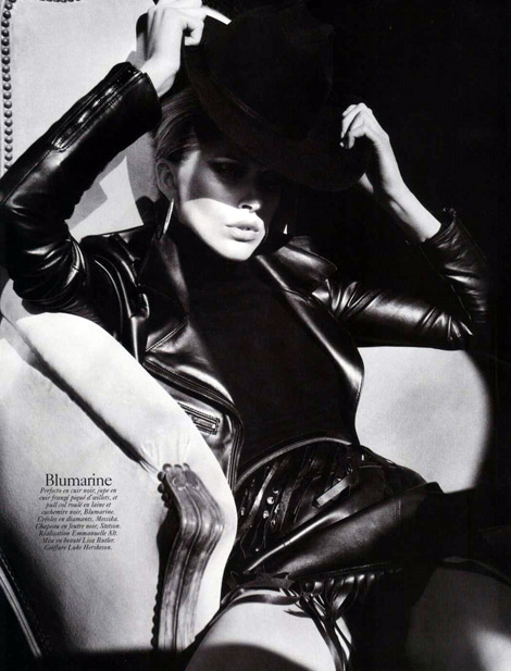 Leather Fashion: Fall Previews from Vogue Paris, 08/2010.