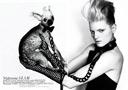 Boot/Glove Fashion: Guinevere Van Seenus in Azzedine Alaia Boots & Gloves. Vogue Paris, 02/2006.