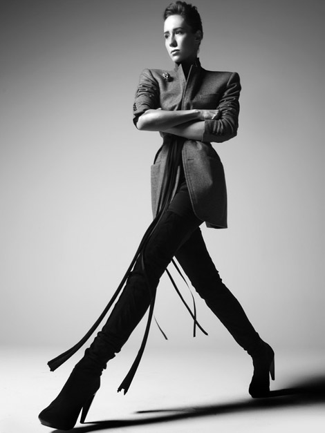 Boot Fashion: Paola de Orleans in Thigh High Boots. Vogue Brasil, 11.2010.
