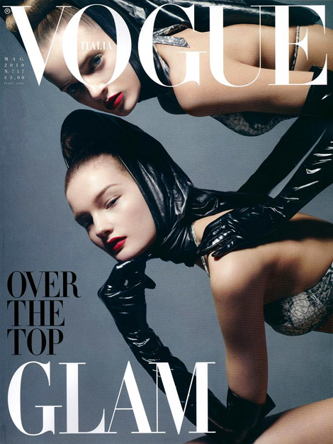 Opera Gloves: Vogue Italia Cover. May, 2010.
