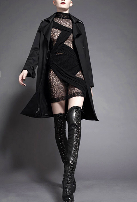 Boot/Leather Fashion: Guilty Brotherhood. Fall/Winter 2010/11.