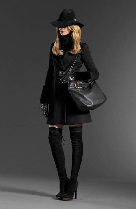 Boot Fashion: Gucci Pre-Fall 2011 Boot Gallery.