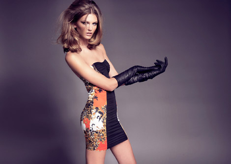 Leather Glove Fashion: Ali Stephens for Blanco, F/W 2009.