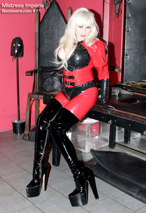 Bootlovers.com #71 Preview: Mistress Imperia's Patent Leather Boots! Sydney, Australia.
