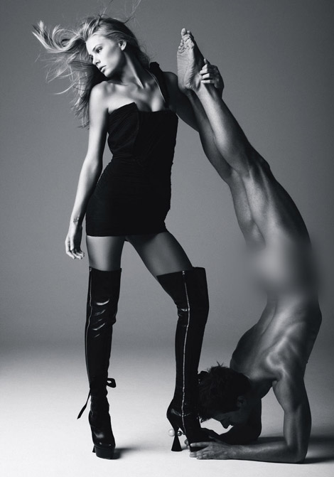 Boot Fashion: Tori Praver in Louis Vuitton Thigh High Boots. Hawaii Magazine, Fall 2009.