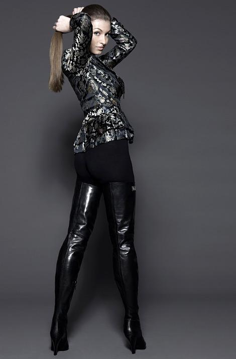 Boot Fashion: Fernando Berlin Crotch High Boots.