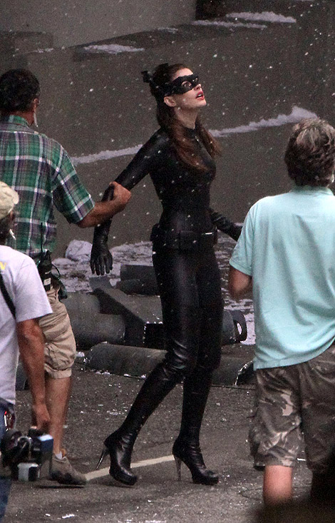 Our Future Catwoman: Anne Hathaway's Boots in The Dark Knight Returns.