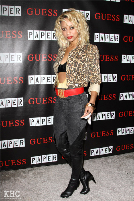 Celebrities in Boots: Keri Hilson in Over The Knee Boots: Los Angeles, 03.30.2011.