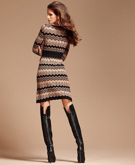 Boot Fashion: Izabel Goulart in Over The Knee Boots. Macy's Fall Fashion, 2011.
