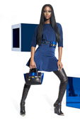 Boot Fashion: Versace Crotch High Leather Boots. Versace Pre-Fall 2012 Look Book.