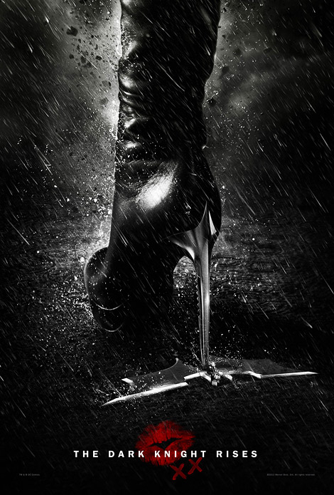 Boots in Film: The Dark Knight Rises Catwoman Poster.