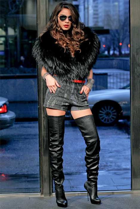 low priced 6e2b1 27487 Boot Fashion: Christian Louboutin Thigh High Boots. Stephen ...