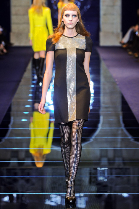 Runway Boots: Thigh High and Knee High Boots at Versace. Fall/Winter 2012/13. Milan, 02.24.2012.