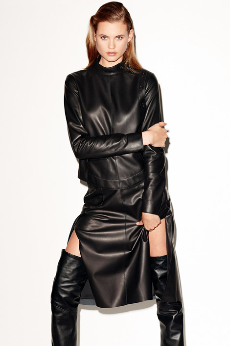 Boot Fashion: Behati Prinsloo in Yves Saint Laurent Thigh High Boots. Vogue Germany, 07.2012.