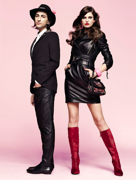Boot Fashion: Bianca Balti in Burak Uyan Knee High Boots. Vogue Brasil, 08.2012.