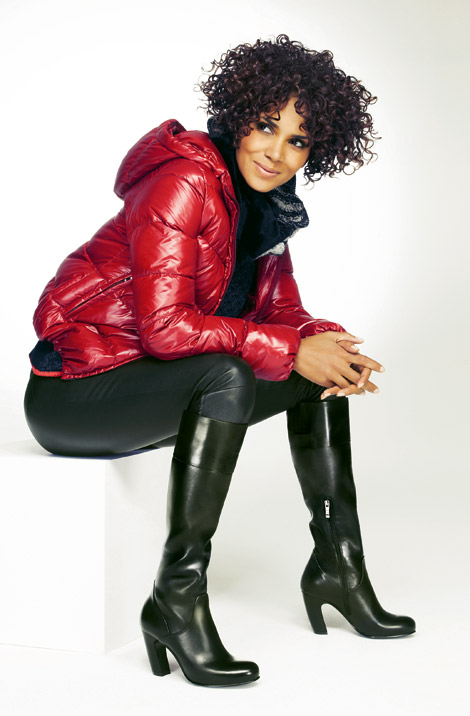 Celebrities in Boots: Halle Berry in Deichman Knee High Boots. Deichmann Footwear Fall/Winter 2012/2013 Campaign. UHQ.