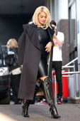 18a71b029bf Celebrities in Boots  Rita Ora in Giuseppe Zanotti Over The Knee Boots.  London