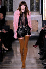 Runway Boots: Emilio Pucci Crotch High Boots. Fall/Winter 2013/2014. Milan, 02.23.2013. Video.