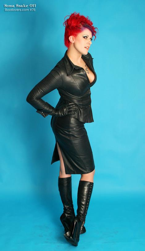 Bootlovers.com #76 Preview: Goddess Soma Snakeoil.
