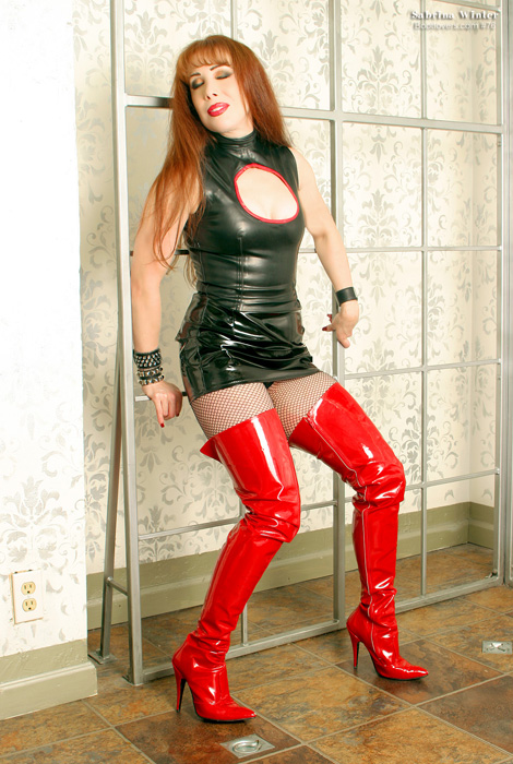 Bootlovers.com #76 Preview: Mistress Sabrina Winter.