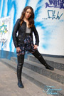Boot Fashion: Fernando Berlin's Thigh High Leather Sneakers (Gallery).