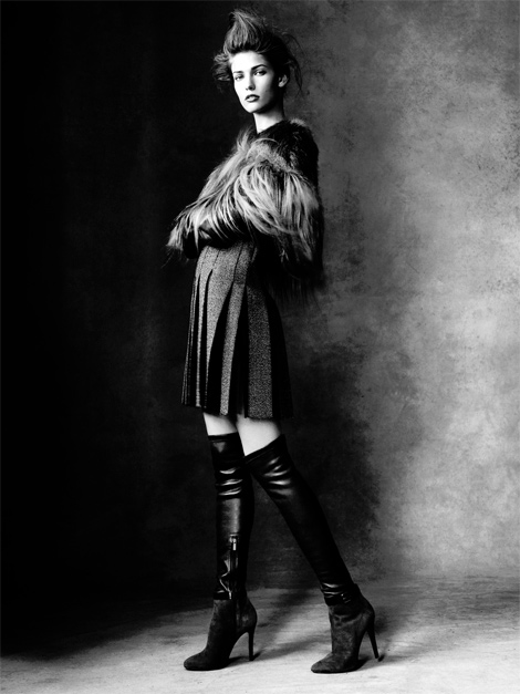 Boot Fashion: Kendra Spears in Over The Knee Boots. Antidote Magazine, F/W 2013.