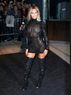 Celebrities in Boots: Beyoncé in Tom Ford Thigh High Boots. New York City, 12.21.2013.