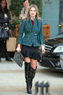 Celebrities in Boots: Ali Larter in Thigh High Boots. Los Angeles, 12.19.2013.