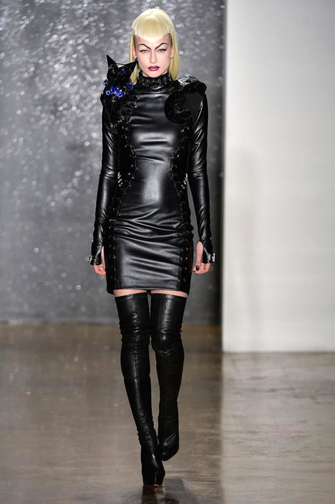 Boot Fashion: Thigh High Boots at The Blondes F/W 2014. NYC ...