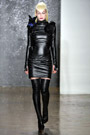 Boot Fashion: Thigh High Boots at The Blondes F/W 2014. NYC, 02.2014.